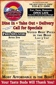 pizza delivery open on thanksgiving brooklynns pizzeria serves up delicious pizzas and wide variety of