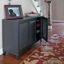 Floor Storage Cabinet Baxton Studio Warren Wood Shoe Storage Cabinet In Brown 28862