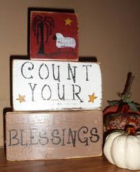 willow tree home decor hand crafted rustic distressed primitive count your blessings