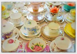 high tea hire high quality vintage china hire