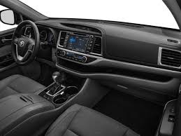 Toyota Highlander Interior Dimensions 2018 Toyota Highlander Limited Toyota Dealer Serving Greensburg