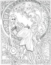 disney princess halloween colouring pages coloring print