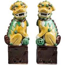 foo dogs for sale striking large pair of turquoise foo dogs for sale at 1stdibs