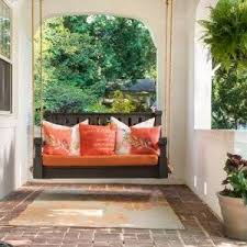 united states modern porch swing mediterranean with custom natural