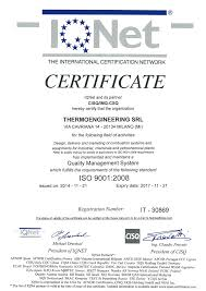 iso quality management system thermoengineering