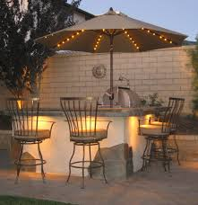 Solar Lights For Patio Outdoor Umbrella With Solar Lights Outdoor Designs