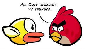 Angry Bird Meme - flappy bird vs angry birds meme
