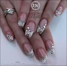clear acrylic nails with glitter www sbbb info