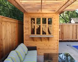landscaping project with deck gazebo and cabana m e contracting