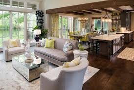 Paint Ideas For Open Living Room And Kitchen by Living Room And Kitchen Ideas 17 Open Concept Kitchen Living Room