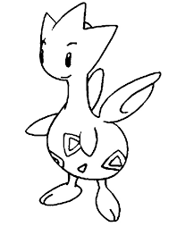 pokemon coloring pages togepi coloring pages pokemon togetic drawings pokemon