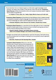 How To Present Resume At Interview Competency Based Resumes Robin Kessler Linda A Strasburg