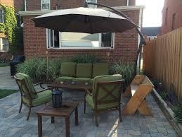 furniture cheap patio table umbrella large umbrella for table