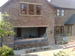 exterior exciting versetta stone with garage conversion