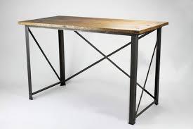 classic slim u0027 industrial desk u2014 konk handmade industrial furniture