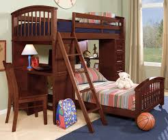 Twin Over Full Cherry Bunk Beds  Cherry Bunk Beds Furniture - Leons bunk beds