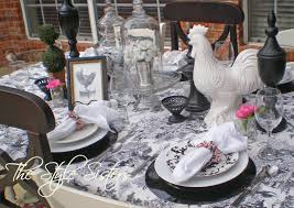 Valentines Day Tablescapes Black And White Tablescape