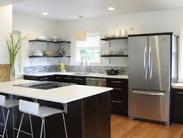 ideas of using open awesome projects kitchen shelves instead of