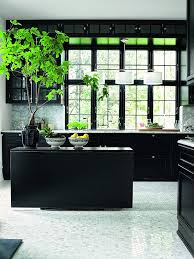 25 absolutely charming black kitchen interior for life