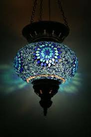 Glass L Shades For Ceiling Lights Large Turkish Moroccan Mosaic Hanging L Shade Pendant