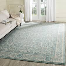 safavieh evoke vintage oriental ivory light blue distressed rug