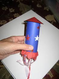 toddler approved firework candy rocket pops