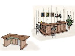 wet bar building plan 002d 1500 house plans and more