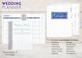 wedding planner calendar wedding planner and organizer purpletrail