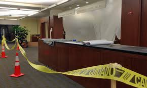 Library Reference Desk Back In Construction Mode But Only Briefly Duke University