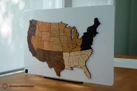 Map Puzzle Usa by Steven Mattern Design Build Map Puzzles