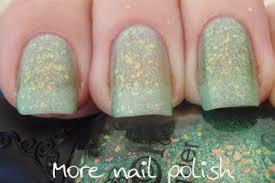 nfu oh flakies 55 and 57 more nail polish