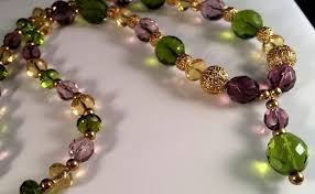mardi gras earrings angelworks by maxanne mardi gras colored glass necklace