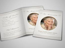 funeral programs design custom funeral programs online mycreativeshop