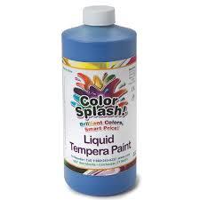 buy 32 oz color splash liquid tempera paint at s u0026s worldwide