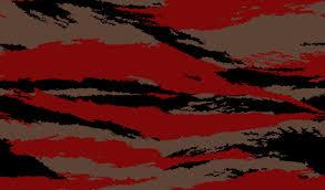 digital blood tiger stripe camouflage pattern by zedrick775 on