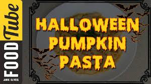 halloween pumpkin pasta eat it youtube
