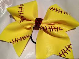 softball bows 75 best softball bows images on softball bows cheer