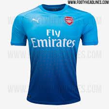 Baju Gambar Nike arsenal 17 18 home away and third kits released footy headlines
