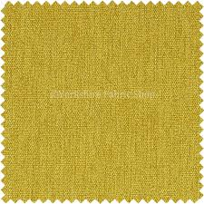 rachel soft texture chenille upholstery fabric yellow colour