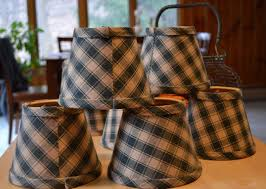 Mini Lamp Shades For Chandelier Plaid Chandelier Lamp Shades Thesecretconsul Com