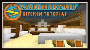minecraft modern kitchen minecraft modern kitchen tutorial scarchitecture ep 2 youtube