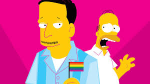 the simpsons when u0027the simpsons u0027 came out of the closet the ringer