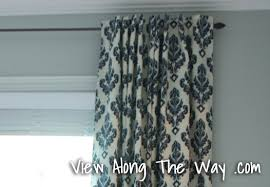 How To Make Curtains Hang Straight Tutorial How To Sew Diy Black Out Lined Back Tab Curtains