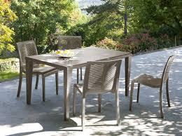 mobilier de jardin en solde ensemble table et chaise de jardin pas cher mc immo