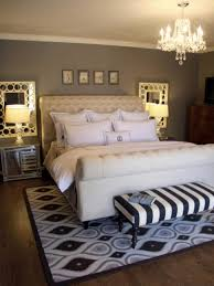 Decorating A Studio Bedroom Modern Bachelor Bedroom Twin Wall Mirror Table Lamps