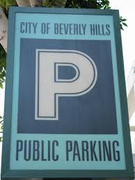 Map Of Beverly Hills Los Angeles by City Parking Structures
