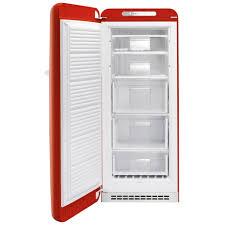 smeg cvb20rr1 red retro freezer right hand hinge appliance city