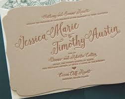 letterpress wedding invitation sale wedding invitation bracket