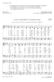 The Blind Will See The Deaf Will Hear Lyrics Lord I Was Blind Hymnary Org