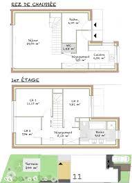 plan maison en u ouvert plan maison avec patio